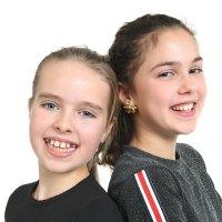Anna & Emma vant MGP Jr